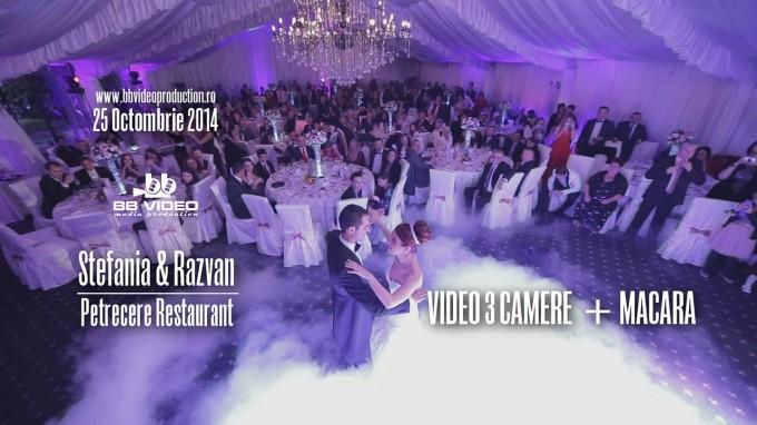 Petrecere Nunta – Filmare cu Macara