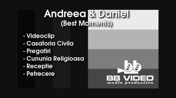 Andreea si Daniel – Wedding day